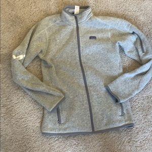 Patagonia women's better sweater medium grey
